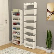 三角形ro架墙角 多po 家用 家用迷你欧式多层简易鞋架经济型