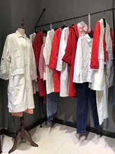 专柜品ro折扣女装休nd棉麻休闲潮流百搭时尚名媛学生气质衣服