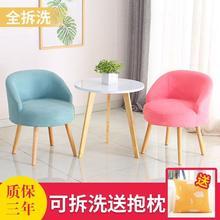 。阳台rq桌椅一桌二ob组合中式出租房餐饮店时尚椅