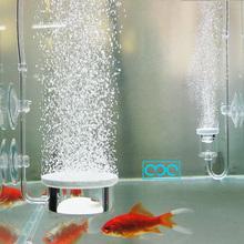 鱼缸加rr泵超静音大xw空气细化器养鱼充氧加氧泵