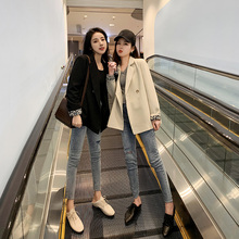 [ruduan]西装外套女设计感小众20