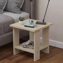 简易(小)rw桌(小)型活动bw简约(小)桌子移动带轮多层易清理方几双层