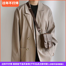 KAFrwAsSHOwh搭扣(小)包单肩斜挎男女中性韩国街拍男士个性潮包邮