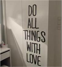 励志英ry墙贴纸卧室su餐厅服装店铺玻璃装饰创意文化背景贴画