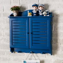 假窗户s6饰品遮挡深6r实木质壁挂配电箱简约百叶窗电表箱盒装