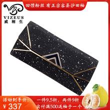 法国Vs7ZEUS女c7真皮长式品牌拉链包头层牛皮大容量多卡位手包