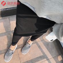 [sabonian]孕妇裤子秋季外穿假两件裙