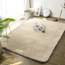 定制加sa羊羔绒客厅ba几毯卧室网红拍照同式宝宝房间毛绒地垫