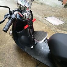 电动车sa置电瓶车带ji摩托车(小)孩婴儿宝宝坐椅可折叠