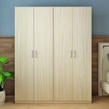 衣柜实sa(小)户型简易en式卧室234门经济型宝宝大衣橱简约现代