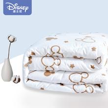 迪士尼sa子被芯冬被ui暖学生单的宿舍春秋被褥空调被四季通用