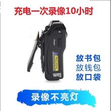 (小)型摄sa头高清迷你an动相机随身超长录像便携DV记录仪