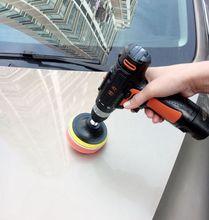 汽车用sa电打蜡机打lv机迷你无线12V锂电池可调速