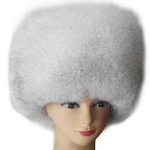 狐狸毛sa子 秋冬季qu子蒙古冬天民族风潮女士帽真皮保暖加厚
