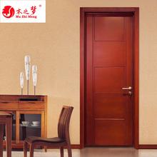 家用纯sa木门全木门li合卧室室内简约房门烤漆实木套装定做