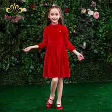 女童连衣裙2021新款春