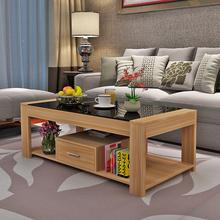 茶几简sa现代储物钢ra茶几客厅简易(小)户型创意家用茶几桌子