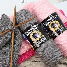 男女自sc围巾羊毛线tt工编织围巾粗线棒针线特价处理线材料包