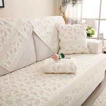 沙发垫纯棉四季布艺简约冬季坐垫现se13通用沙un滑沙发巾罩