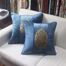 丝茉尔se园雪尼尔床ou垫沙发靠垫抱枕靠枕含芯大/靠垫套6560