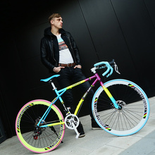 公路赛se自行车变速za心胎活飞超轻26寸单车学生网红男女成的