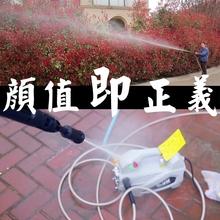 洗车泵洗车机高压220v家用洗se12机洗车za便携式高压水枪