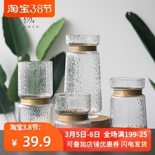 [seren]亦思欧式灰色铜圈玻璃花瓶