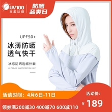 UV1se0户外夏季gi女士2021新式防紫外线轻薄透气外套短式91066