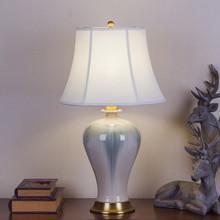 厂家直se现代中式美ie全铜客厅卧室书房装饰窑变正品