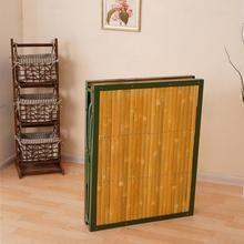折叠床铁架子床大人单人竹