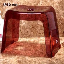 日本创sf时尚塑料现en加厚(小)凳子宝宝洗浴凳换鞋凳(小)板凳包邮