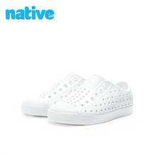Natshve夏季男drJefferson散热防水透气EVA凉鞋洞洞鞋宝宝软