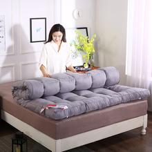 加厚10cm羽绒棉学生宿舍保暖床垫褥子单的sh18.9mdr的1.5m1.8米
