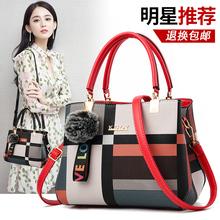 香港正品包包女2021sh8款时尚百an皮单肩斜挎手提女包