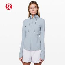 上海现shlululizn丨Define 带帽女士运动夹克瑜伽健身长袖外套