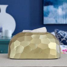 抽纸盒sh瓷家用简约as巾盒创意北欧ins轻奢风餐厅餐巾纸抽盒