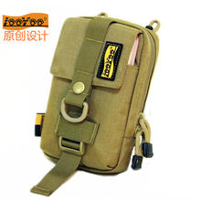 路游Ash9男(小)腰包ng动手机包6-7.2�脊野�手包EDC尼龙配附件包