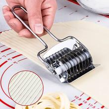 手动切sh器家用压面al钢切面刀做面条的模具切面条神器