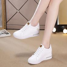 鞋子女sh021新式qs(小)白鞋女真皮百搭休闲鞋白色运动鞋春季单鞋