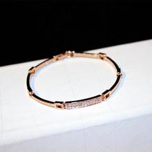 松本公sh2020式iu18K金奥地利水晶钻首饰品手镯手链礼物