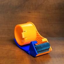 胶带切sh器塑料封箱gh透明胶带加厚大(小)号防掉式