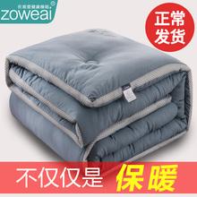 冬季被sh冬被加厚保cm全棉被褥春秋单的学生宿舍双的冬天10斤