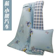 两用靠垫si1汽车办公en加厚全棉午休被纯棉被子多功能抱枕被
