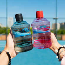 创意矿si水瓶迷你水ie杯夏季女学生便携大容量防漏随手杯