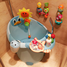 洗澡桶si宝宝家用宝ng(小)儿6女童8玩具1浴桶4(小)孩7岁5全身3-10