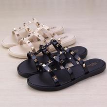 亚民族风时尚si3拖鞋柳丁rd拖女夏防滑沙滩室内浴室洗澡外穿