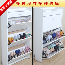 带抽翻斗鞋柜大容量白色简约欧式超sk1317 nn玄关柜门厅包邮