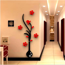 3d立sk亚克力墙贴li沙发电视背景墙装饰墙贴画客厅布置贴纸画