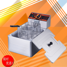 汇利HY81R单缸单筛电热油炸锅 sk14热油炸li机 炸薯条机促销