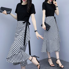 两件套sl2020新pn半身裙气质连衣裙通勤女收腰显瘦裙子